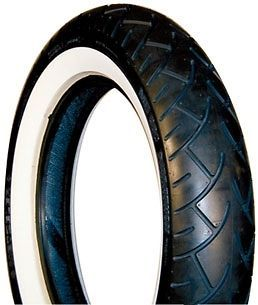 Metzeler ME880 Wide White Wall Front Motorcycle Tire Size MH90H21