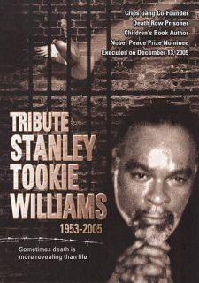 Tribute Stanley Tookie Williams DVD, 2009