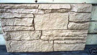 100 abs plastic rock facing sheet plaster concrete mold time