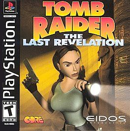 TOMB RAIDER LAST REVELATION   PS1 PS2 COMPLETE PLAYSTATION GAME