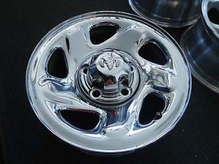 DODGE RAM 1500 16X7 FACTORY OEM 5 LUG CHROME WHEEL RIM 2039