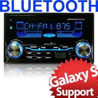 In Dash Double DIN  Galaxy S3 Bluetooth Music Car Stereo Radio