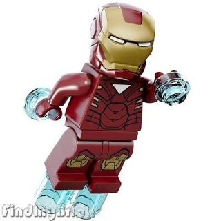 BM011 Lego Super Heroes Iron Man Minifigure Marvel Universe 6867 NEW