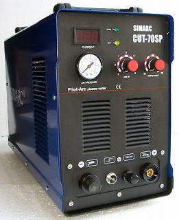 Pilot Arc Plasma Cutter CUT 70SP + 25 WSD 60 Consumables 70SP