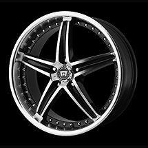 18 inch nissan 350z 370z 18x8 black rims wheels time