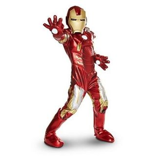 new  deluxe iron man costume for boys m 7 8  85