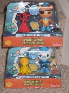 Newly listed BNIB Octonauts   Kwazii & the Vampire Squid, Barnacles