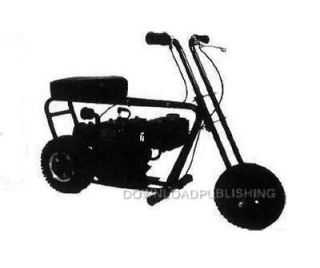 Newly listed MINI BIKE PLANS GO KART SCOOTER TRACTOR ATV HOW TO