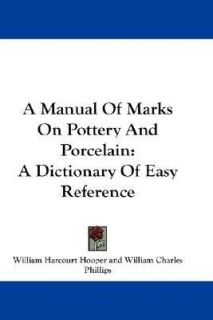 Porcelain marks on popscreen manual of marks on pottery and porcelain a dictionary of easy sciox Image collections