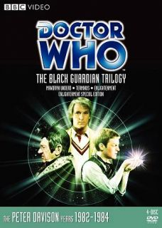 Doctor Who The Black Guardian Trilogy DVD, 2009, 4 Disc Set