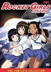 Rocket Girls   Complete Collection DVD, 2008, 3 Disc Set