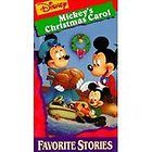Walt Disney Mini Classics   Mickeys Christmas Carol (VHS, 1997)