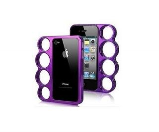 The Lord Of The Rings knuckles case cover Skin of Iphone 4 Purple
