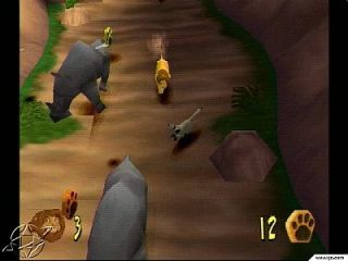 The Lion King Simbas Mighty Adventure Sony PlayStation 1, 2000