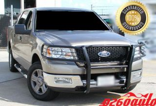 2004 2005 Ford F 150 2WD / 4WD Black Push Brush Grille Guard