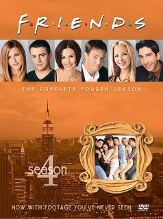Friends   The Complete Fourth Season DVD, 2003, 4 Disc Set, Four Disc