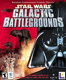 Star Wars Galactic Battlegrounds Mac, 2002