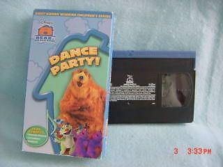 Bear in the Big Blue House DANCE PARTY preschool Disney kids