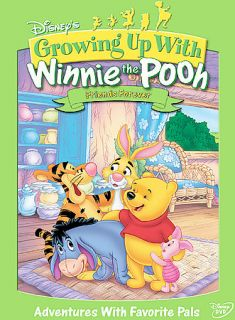 Growing Up With Winnie The Pooh Friends Forever DVD, 2005