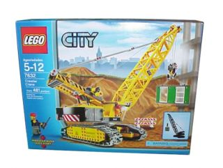 Lego City Construction Crawler Crane (76