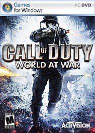 Call of Duty World at War PC, 2008