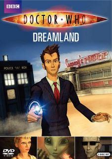 Doctor Who Dreamland DVD, 2010, 2 Disc Set
