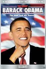 President Barack Obama   The Man And His Journey DVD, 2009