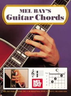 Guitar Chords by Mel, Publications, Inc. Staff Bay 1959, Paperback