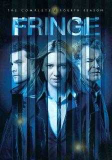 Fringe The Complete Fourth Season DVD, 2012, 6 Disc Set