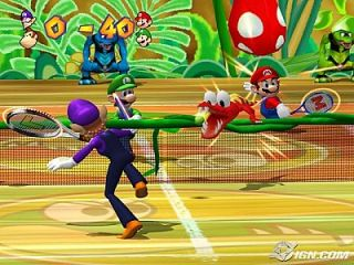 Mario Power Tennis Nintendo GameCube, 2004