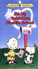 Be My Valentine, Charlie Brown (VHS, 199