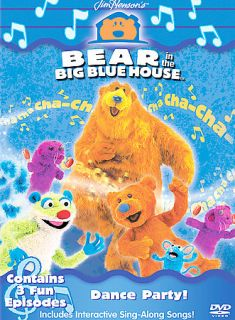 Bear in the Big Blue House   Dance Party DVD, 2002