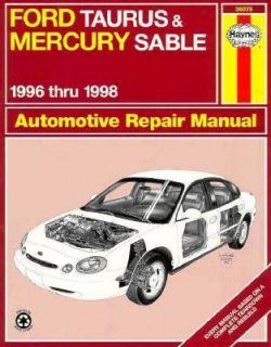 Ford Taurus and Mercury Sable Automotive Repair Manual by Ken Layne