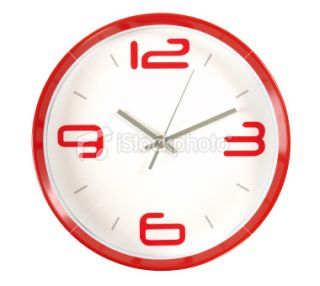 stock photo 13408219 clock clipping path