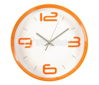 stock photo 13335494 clock clipping path
