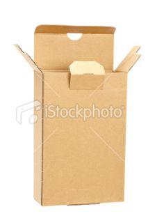 stock photo 11467415 opened cardboard box