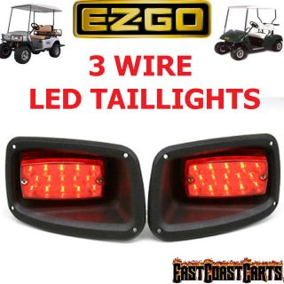 ezgo golf cart led taillights 2 e z go tail
