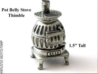 pot belly stove thimble time left $ 12 99 buy