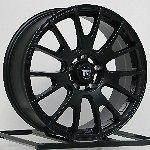18 Inch Wheels Rims Black Honda Accord Civic Ford Edge Escape Flex