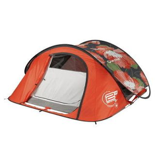 Quechua Tent Camping Pop Up Tente 2 SECONDS AIR III fleur , 3 Man