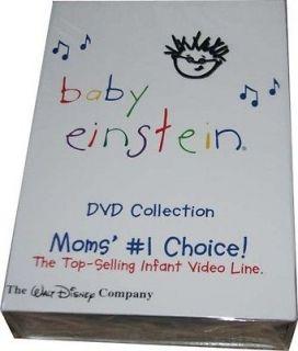 NEW DISNEY BABY EINSTEIN 26 DISC DVD SET ~ SHELF PULL ~