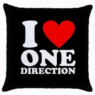 love one direction boy band throw pillow case from