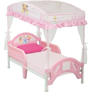NEW* Girls Toddler Bed Canopy Princess Cute Durable Safe *QUICK