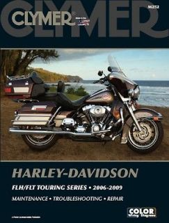06 09 harley davidson fl road king electra glide manual