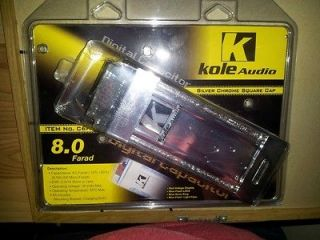 Newly listed Kole Audio 8 Farad Capacitor BRAND NEW IN PACKAGING
