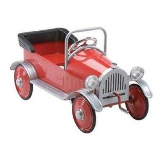 antique red hot rod pedal car time left $ 229