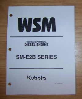 kubota sm e2b series diesel engine workshop manual time left