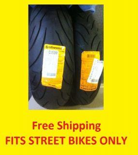 new street bike motorcycle tire set 120 70 17 180