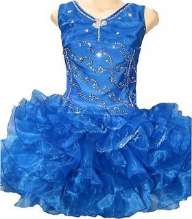high glitz pageant dress in Clothing, Shoes & Accessories