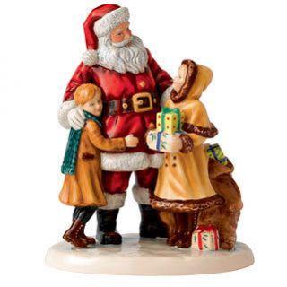 Royal Doulton Christmas Joy Santa Children Character FOY 2012 HN 5548
